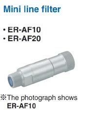 Panasonic ER-VS:n ilmansuodatin