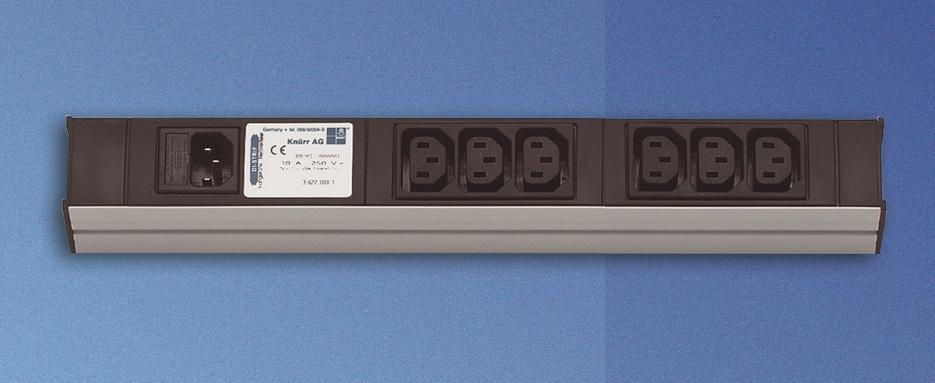 PDU 6xC13, input C14, ei johtoa