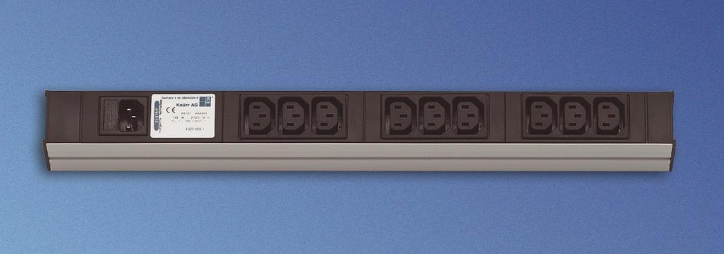 "PDU (19"") 9xC13, input C14,ei johto"