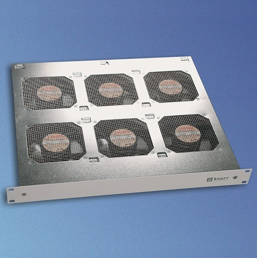 CoolBlast 1U 230VAC, 6 puhallinta