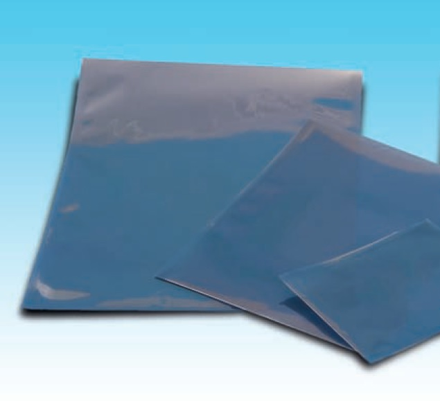 Metalloitu suojapussi 102 x 762 mm