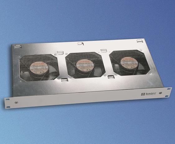 CoolBlast 1U, 230VAC 3 puhallinta