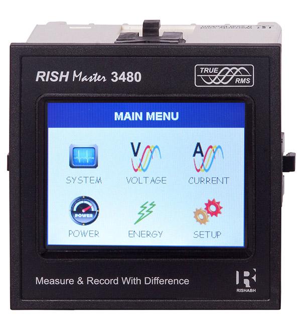 Rishmaster 3480 Touch Screen model