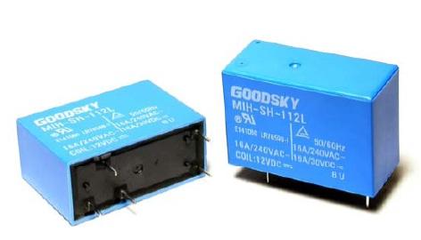 Rele 12VDC Kontakti: 2C 240VAC/5A