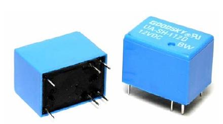 Rele 12VDC Kontakti: 1C 120VAC/3A