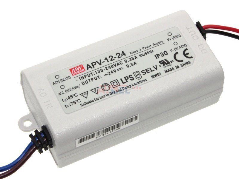 90-264Vac/24Vdc,0,5A,CV ledteholähd