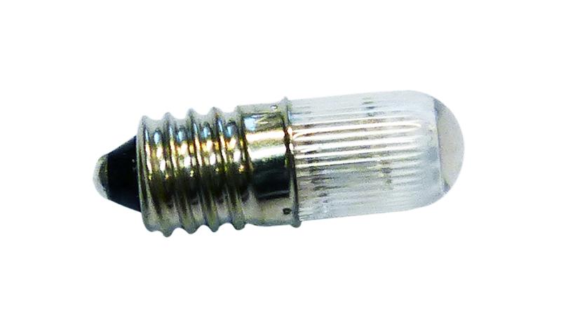 Neon E10 28mm 380V muovi