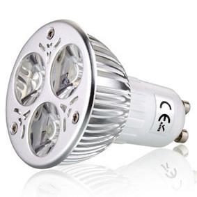 Ledlamppu GU10 12VDC 5W 3000K 420lm
