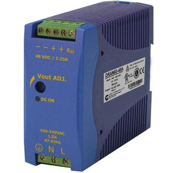 90-265VAC / 12VDC 5A, 60W Teholähde