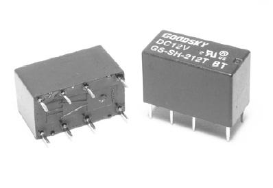 Rele 12VDC Kontakti: 2C 120VAC/2A