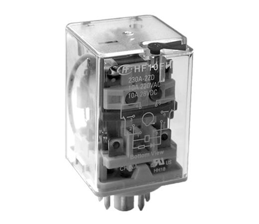 Rele 24VDC Kontakti:3C 250VAC/3x5A