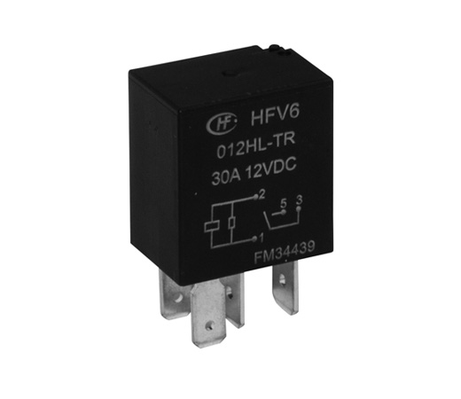 Rele 12VDC Kontakti:1C 12VDC/10A