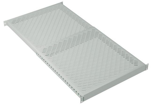 Säädettävä hylly 1U S500-900 harmaa