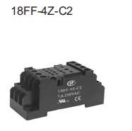 Relekanta DIN-kiskoon 4C HF18FH