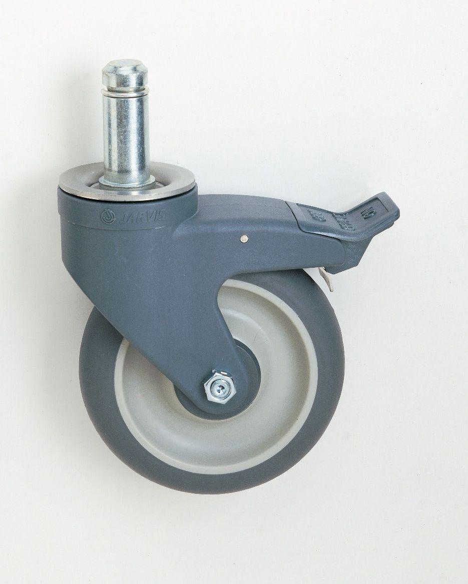 PU-Pyörä, 127mm, jarrullinen -MAX