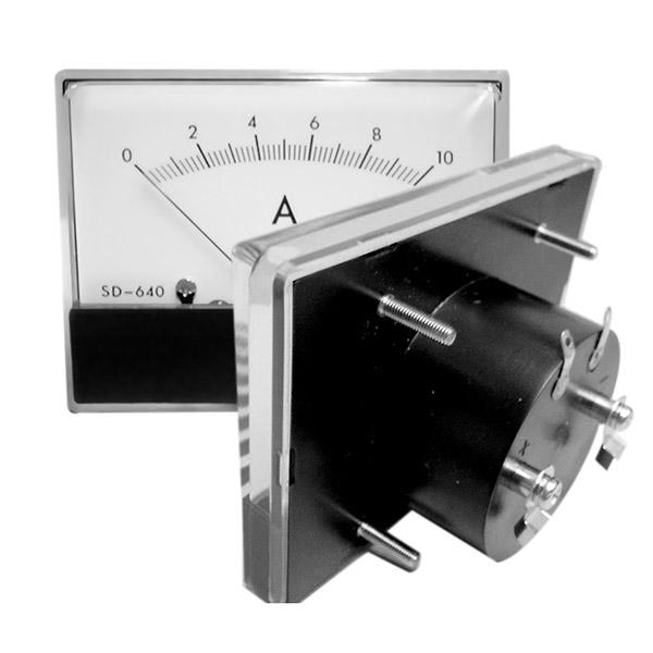 Taulumittari 0-50A DC+shuntti RoHS