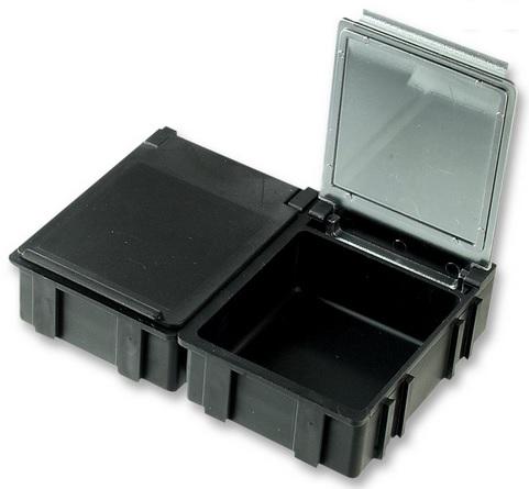 SMD-laatikko, musta kansi