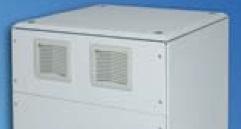 IP54 paneeli ilmansuodattimilla 6U