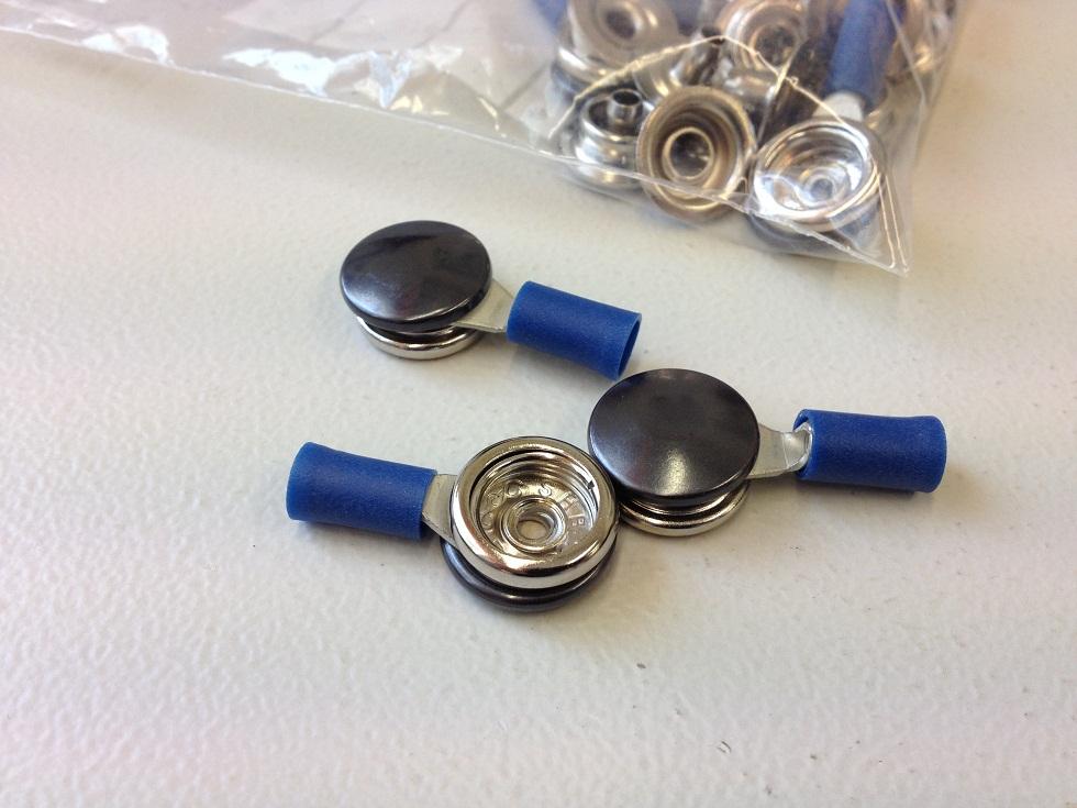 10mm neppari adapteri, 50kpl/pss