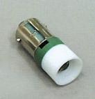 Led Ba9s 230V AC puhdas vihreä RoHs