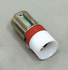 Led Ba9s 230V AC punainen RoHs