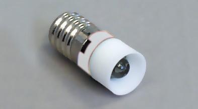 Led E10 24V AC/DC valkoinen RoHs