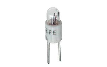 Lamppu T-1 bi-pinE 28V 24mA