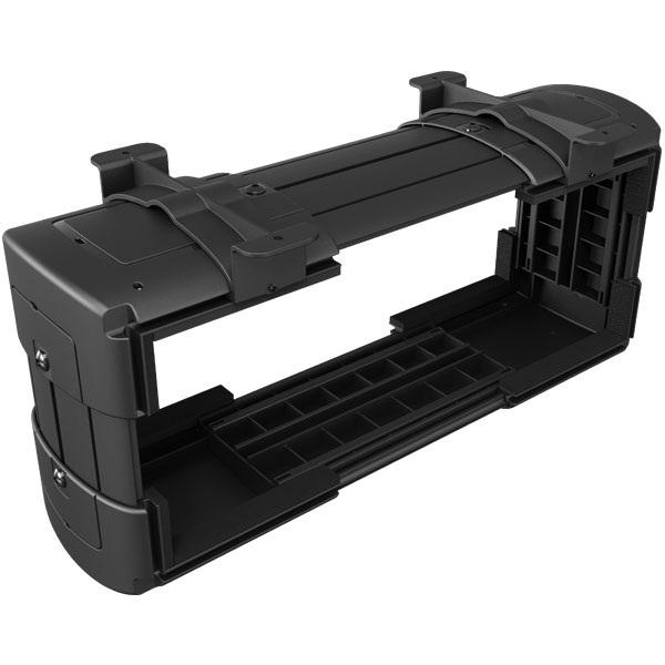 PC-teline pöydän alle, pieni, musta