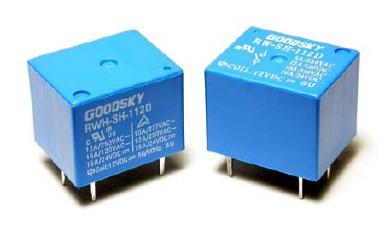 Rele 12VDC Kontakti: 1C 120VAC/10A