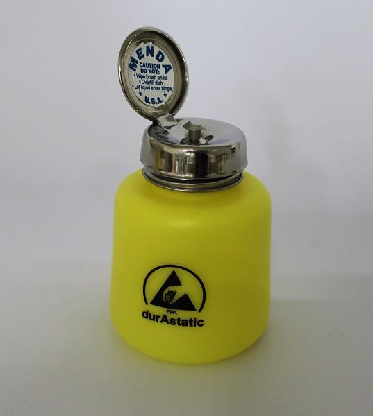 ESD pumppupullo, keltainen, POISTO