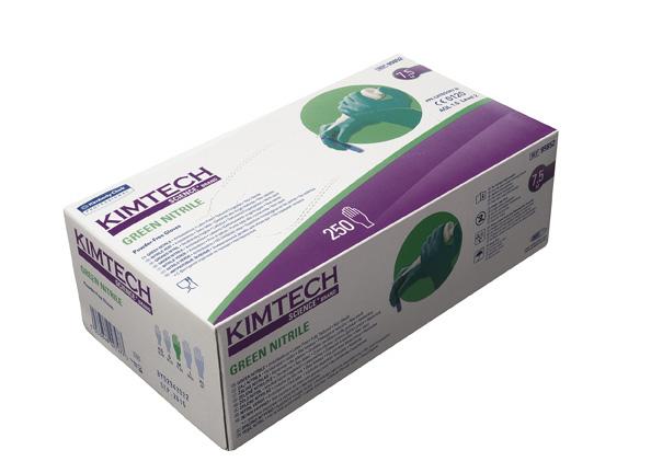 Nitriilikäsine: Vihreä/XS/1500kpl