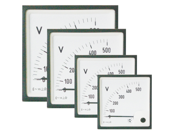72X72mm, 0-30V-DC, IP52