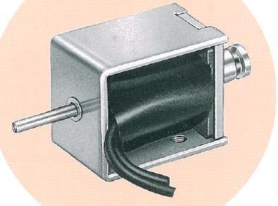 Solenoidi 24VDC työntävä