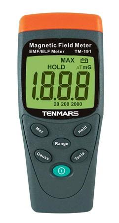 Tenmars magneettikentän mittari