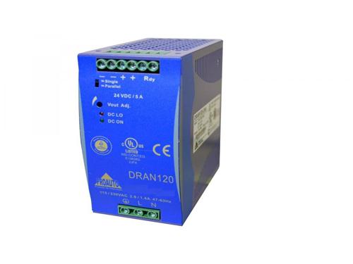 90-264Vac/24Vdc,5A,120W Teholähde