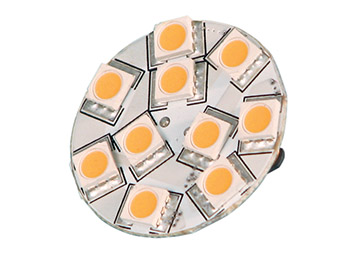 Ledlamppu G4 30x13 10-30VDC 1.5W WW
