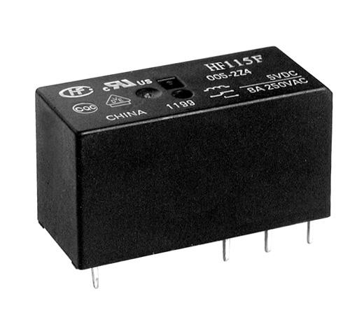 Rele 5VDC  Kontakti: 2C 240VAC/2x8A