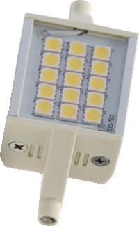 Ledlamppu R7s 35x78 220-240V 4W WW