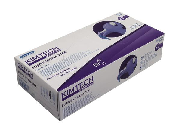 Nitriilikäsine:PurpleXTRA/XS/500kpl