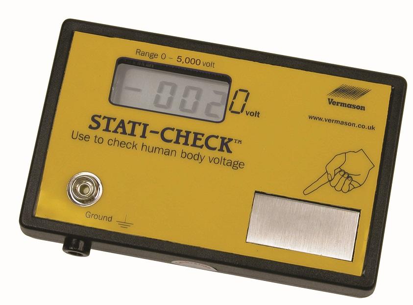 Vermason Stati-Check jännitemittari