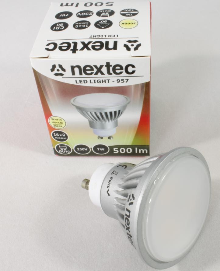 Ledlamppu*GU10 230V 7W 500lm 3000K