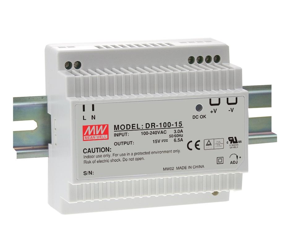 88-264VAC 24VDC 4,2A 100W