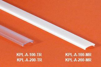 Ledprofiilin kansi 100cm, läpinäkyv