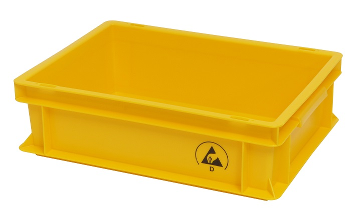 IDP 400x300x120mm, keltainen