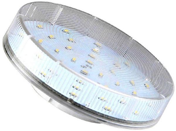 Ledkämmenlamppu GX53 6000K 240VAC