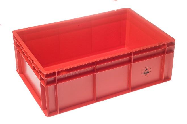IDP 600x400x220mm, punainen