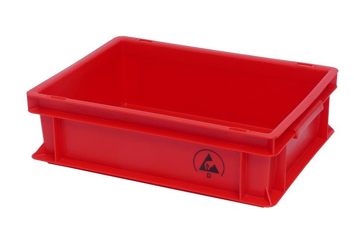 IDP 400x300x120mm, punainen
