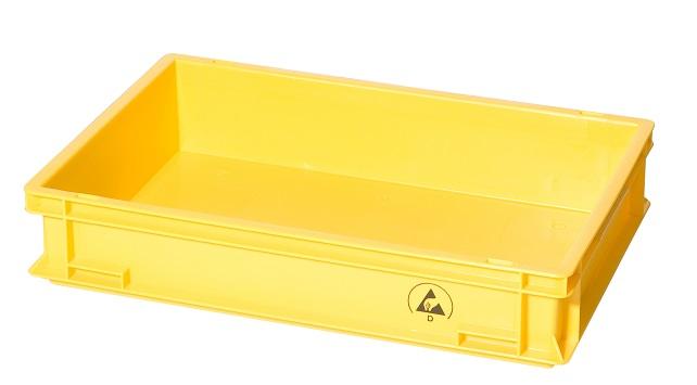 IDP 600x400x120mm, keltainen