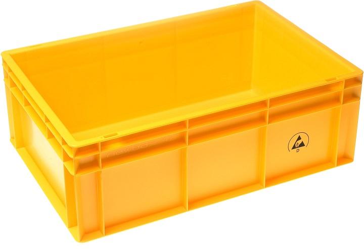 IDP 600x400x220mm, keltainen