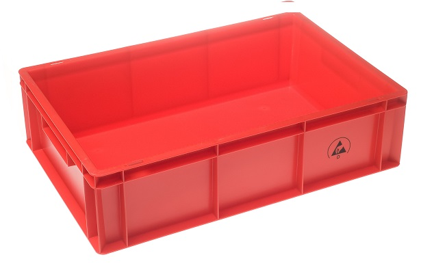 IDP 600x400x170mm, punainen